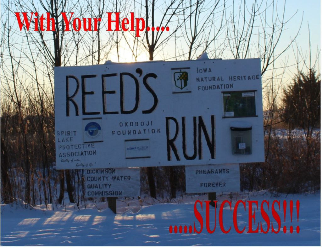 Reed_s Run Sign
